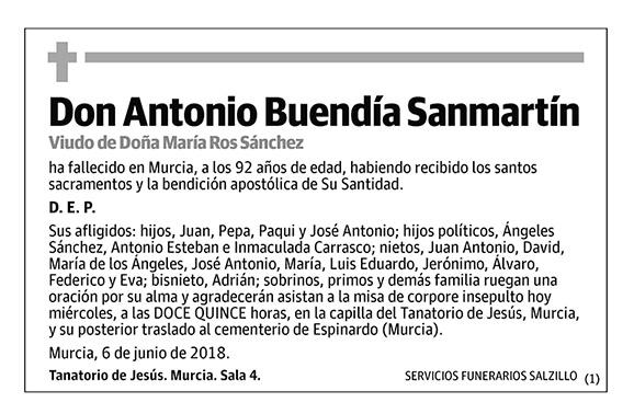 Antonio Buendía Sanmartín