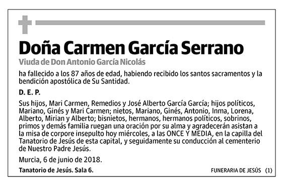 Carmen García Serrano