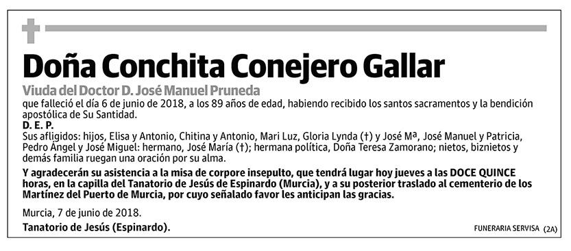 Conchita Conejero Gallar