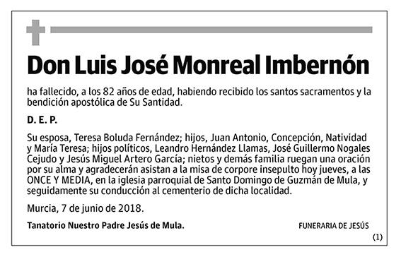 Luis José Monreal Imbernón