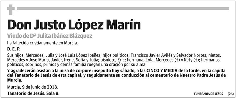 Justo López Marín