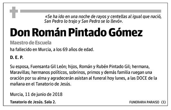 Román Pintado Gómez