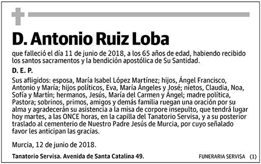 Antonio Ruiz Loba