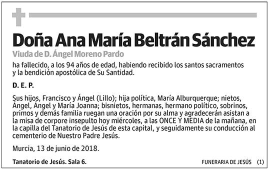 Ana María Beltrán Sánchez