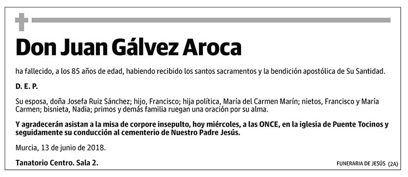 Juan Gálvez Aroca