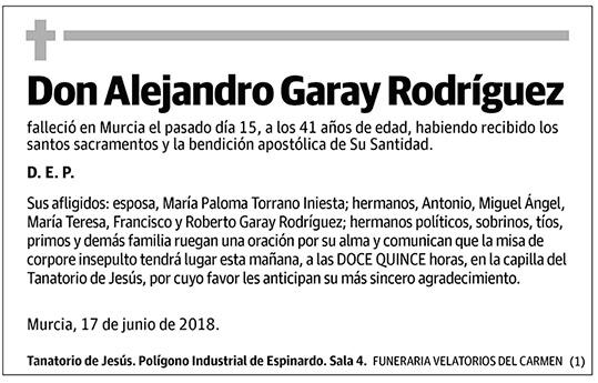 Alejandro Garay Rodríguez