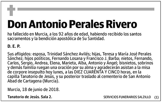 Antonio Perales Rivero
