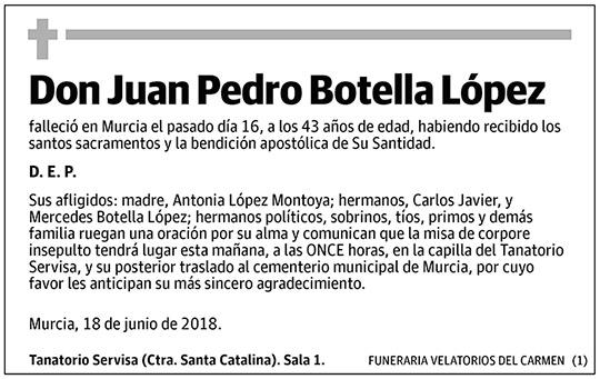 Juan Pedro Botella López