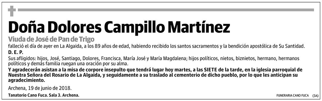 Dolores Campillo Martínez