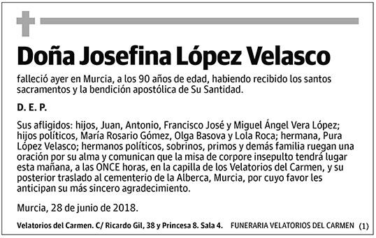 Josefina López Velasco