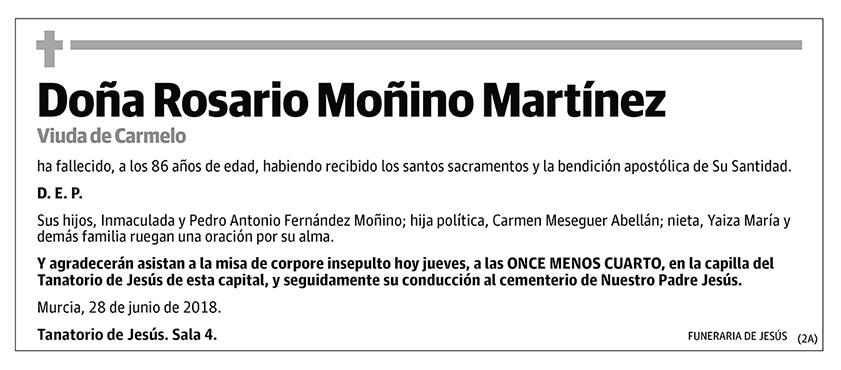 Rosario Moñino Martínez