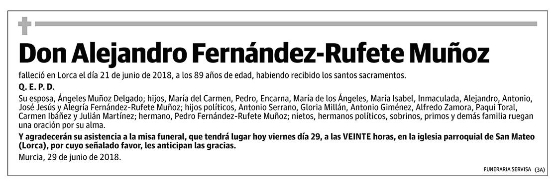 Alejandro Fernández-Rufete Muñoz