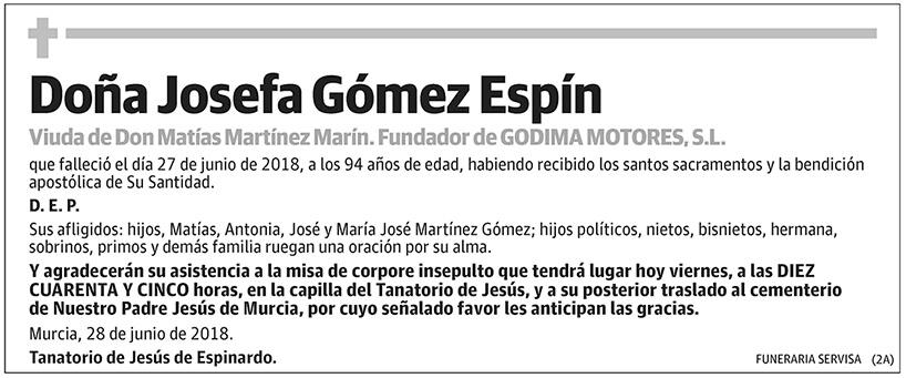 Josefa Gómez Espín