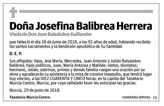 Josefina Balibrea Herrera