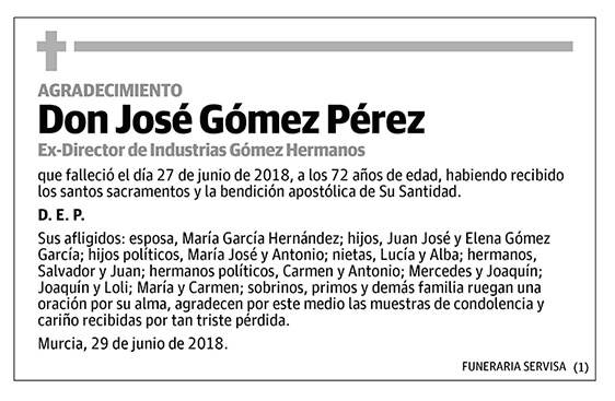 José Gómez Pérez