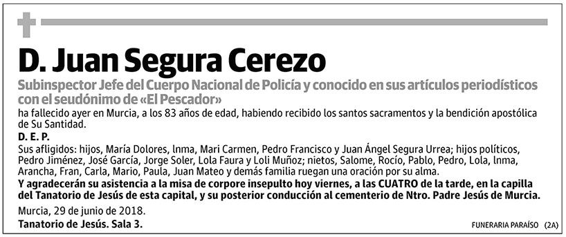 Juan Segura Cerezo