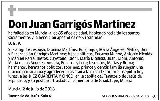 Juan Garrigós Martínez