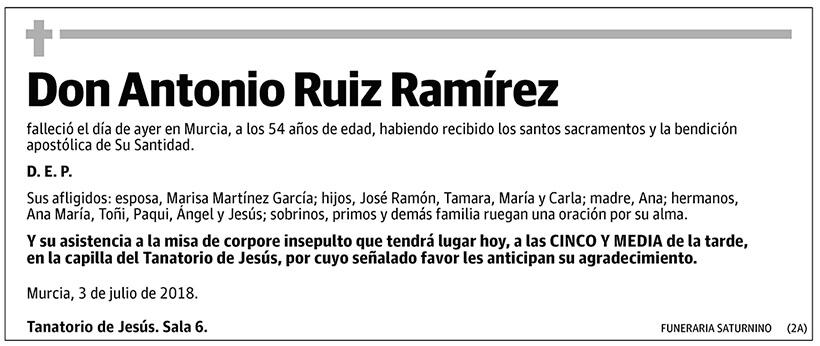 Antonio Ruiz Ramírez
