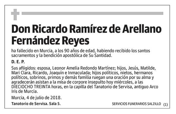 Ricardo Ramírez de Arellano Fernández Reyes