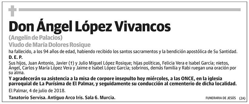 Ángel López Vivancos