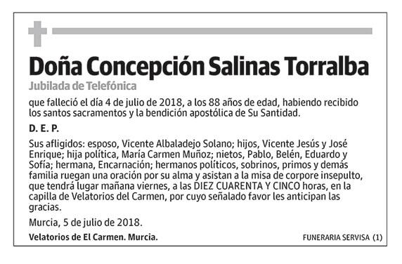 Concepción Salinas Torralba