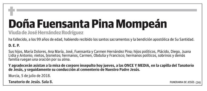 Fuensanta Pina Mompeán