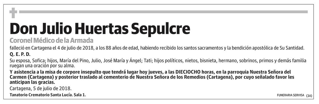 Julio Huertas Sepulcre