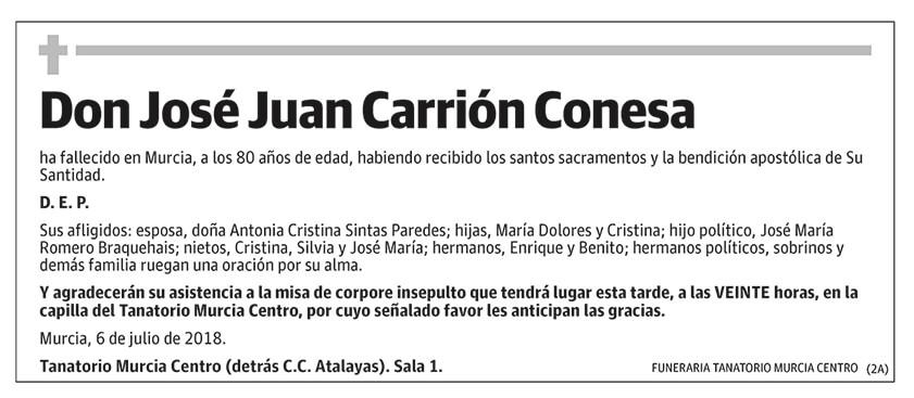 José Juan Carrión Conesa
