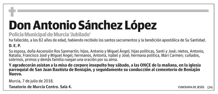 Antonio Sánchez López