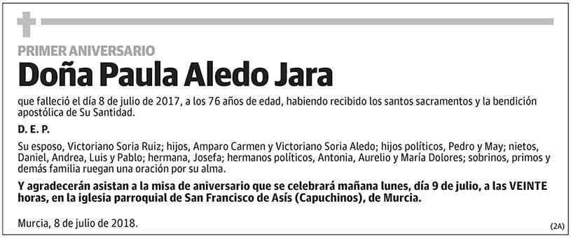 Paula Aledo Jara