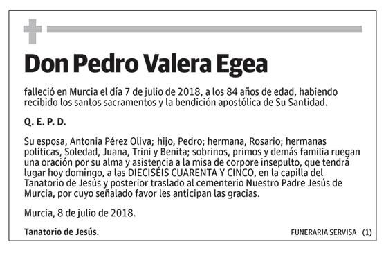 Pedro Valera Egea