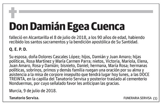 Damián Egea Cuenca