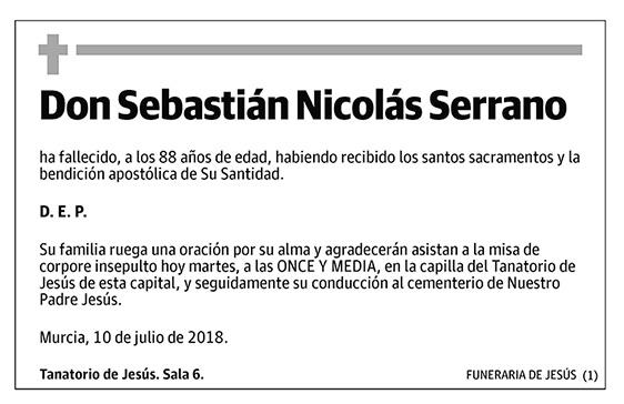 Sebastián Nicolás Serrano