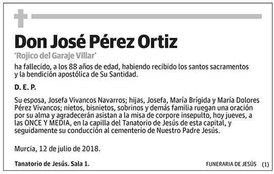 José Pérez Ortiz