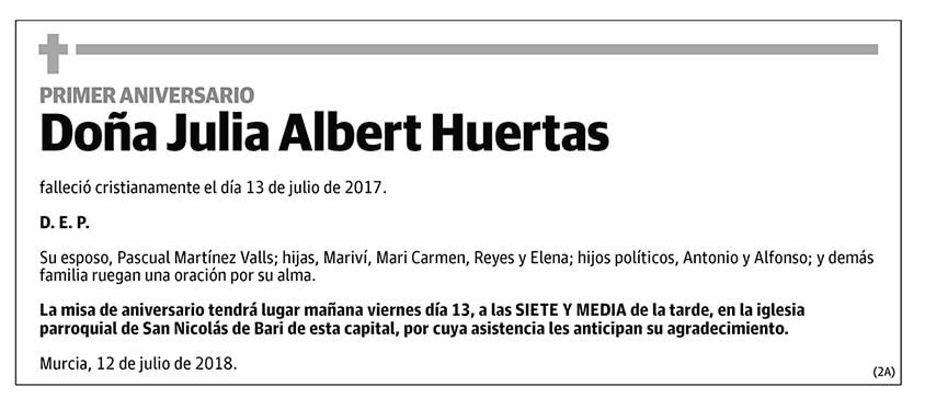 Julia Albert Huertas