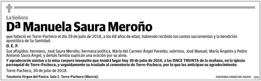 Manuela Saura Meroño