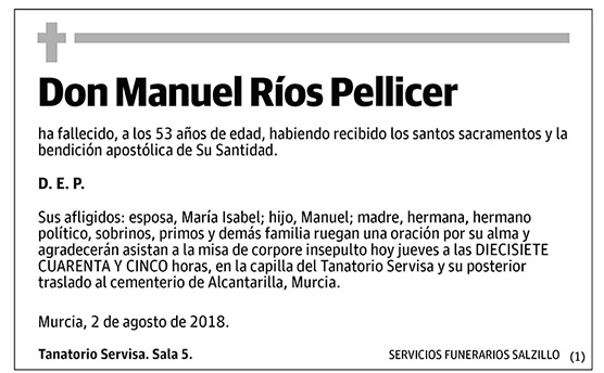 Manuel Ríos Pellicer