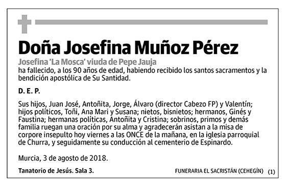 Josefina Muñoz Pérez