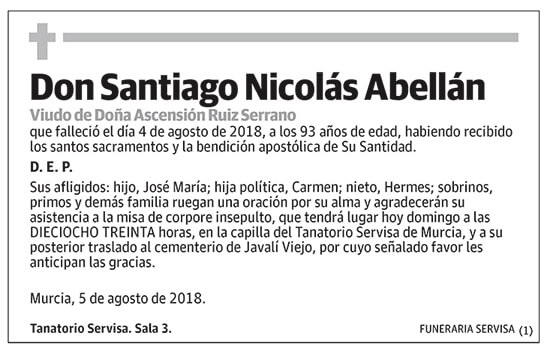 Santiago Nicolás Abellán