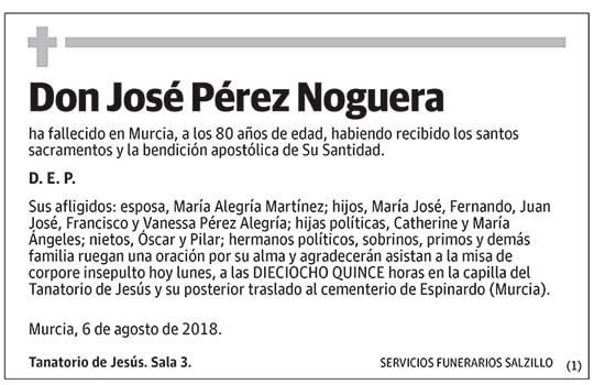 José Pérez Noguera