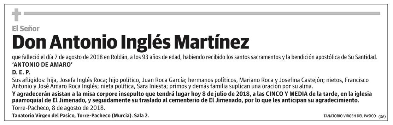 Antonio Inglés Martínez