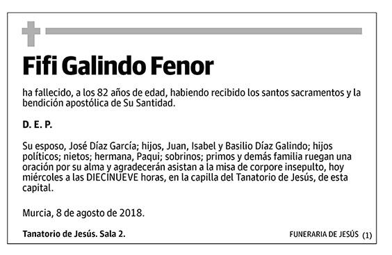 Fifi Galindo Fenor