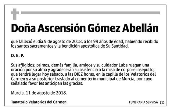Ascensión Gómez Abellán