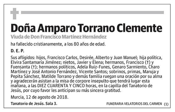Amparo Torrano Clemente