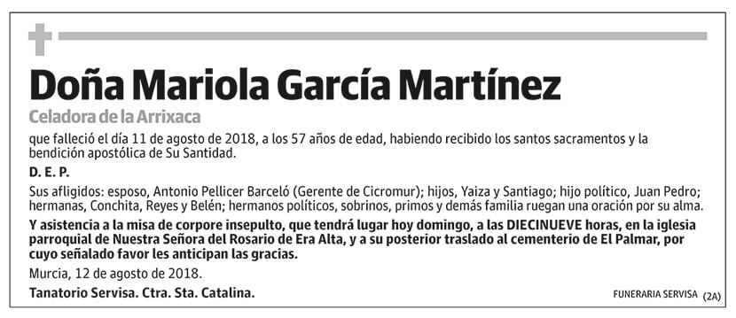 Mariola García Martínez