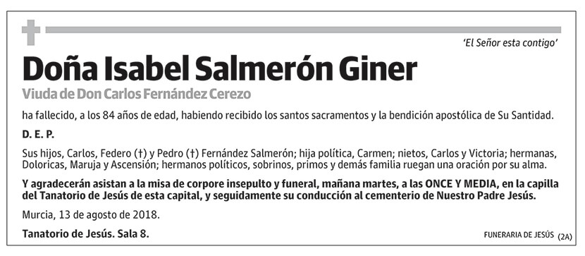 Isabel Salmerón Giner