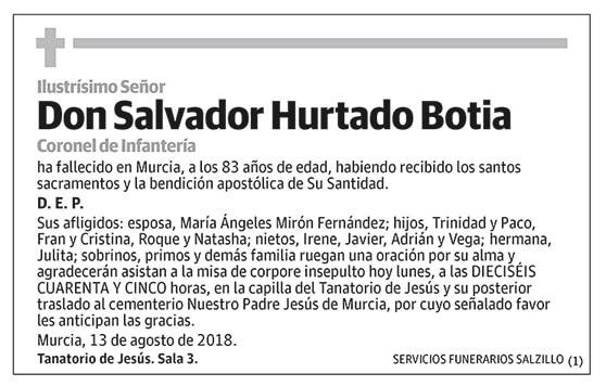 Salvador Hurtado Botia