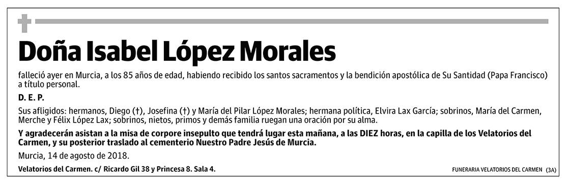 Isabel López Morales