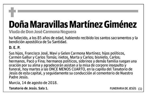 Maravillas Martínez Giménez