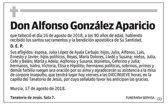Alfonso González Aparicio